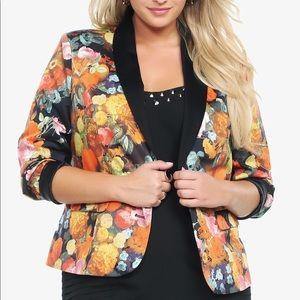 Torrid   floral blazer